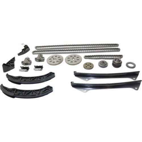 Timing Chain Kit compatible with Azera 06-11 Veracruz 07-12 6 Cyl 3.3L//3.8L Eng.