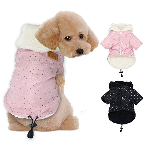 Tineer Pet Puppy Little Star Coat,Pet Dog Warm Winter Clothes Puppy Cats Sweater Apparel Small Dog Clothes