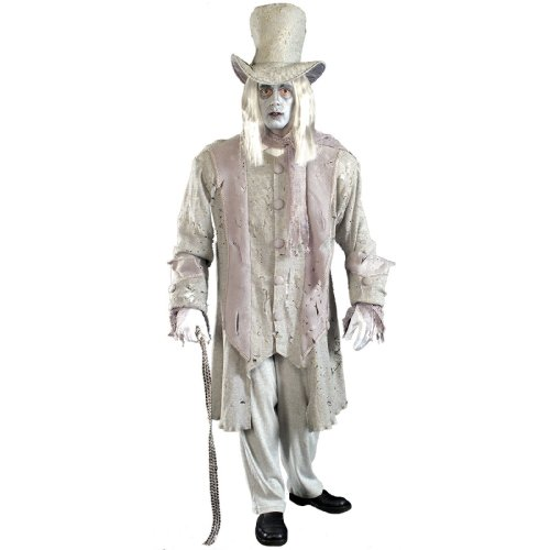 Forum Novelties Men's Ghostly Gentleman Costume, Gray/White, Standard -