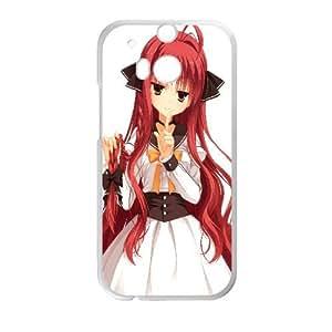 Miu Yarai Dracu Riot Anime HTC One M8 Cell Phone Case White persent xxy002_6887052