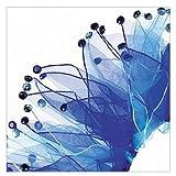 Charming Party Collar, Multi Blue Rhinestone, X-Large