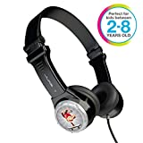 JLAB JK2-BLK-RTL Audio JBuddies Kids- Folding, Volume Limiting Headphones, Guaranteed for Life - Black