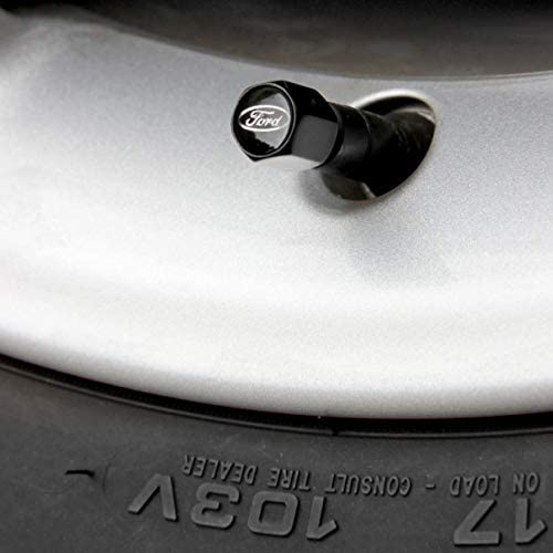 Ford Performance 2308109 Ventilkappen Schwarz Auto