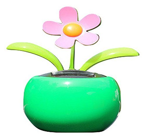 nobrand Artificial Flowers Arrangements Living Room Decoration For Home Fake Flowers Hobby Lobby That Look Real Accessories Solar Powered Dancing Flower Toys For Car Dashboard Sunflower by nobrand