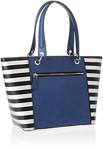 NY669123 Multicolore Shopper Donna Guess Multi Navy Ofd4ww