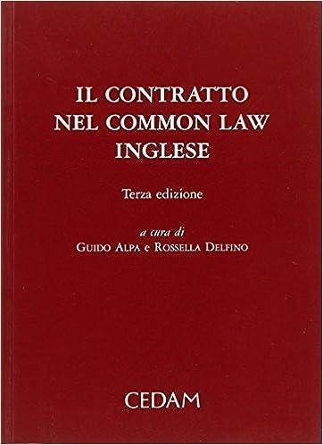 Il Contratto Nel Common Law Inglese por G. Alpa epub