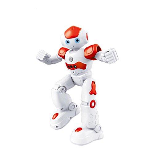 Charming RC Distant Management Robotic, COOL99 Flytec FQ4005 Impediment Avoidance Sing&Dance Gesture Management Clever RC Robotic (A, Crimson)  Evaluations