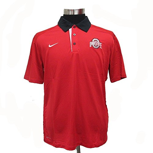 Ohio state dri fit shirt ohio state buckeyes dri fit for Ohio state golf shirt
