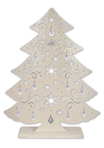 white-christmas-tree-tea-light-candle-holder