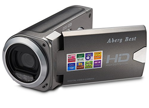 ABERG BEST HD Digital Video Camera – 8 mega pixels 720P HD Digital Camera – 2.7 inch LCD Screen – Students Camcorder