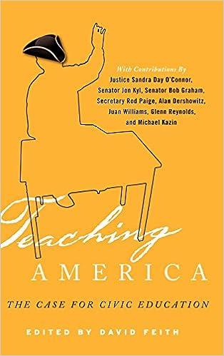 Téléchargements de livres pdf gratuitsTeaching America: The Case for Civic Education (Littérature Française) iBook