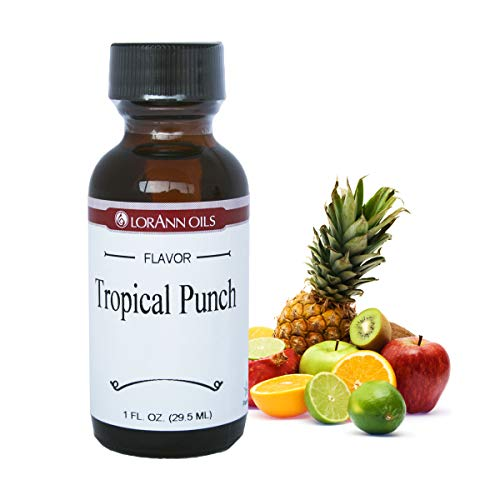Lorann Oils Tropical Punch 1 Ounce - Punch Flavor Tropical
