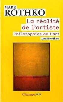La réalité de l'artiste par Rothko