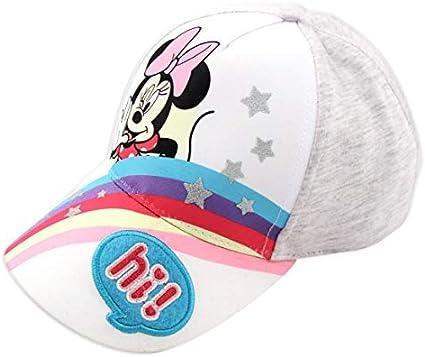 Disney Minnie Mouse Heather Jersey Rainbow Baseball Cap, Toddler ...