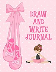 Encourage your child's artistic creativity and writing skills with this fun journal. The front side of each page has a large space for drawing a picture and then lines below to start a story. The back page is all lines so your little w...