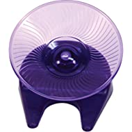 Ware Manufacturing Flying Saucer Exercise Wheel for Small Pets, 5-Inch - Colors may vary