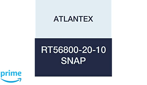 3 1//2 x 10 3 1//2 x 10/' ATLANTEX RT56800-20-10 SNAP Reflect-Therm SNAP Reflective Sleeving with SNAP Closure
