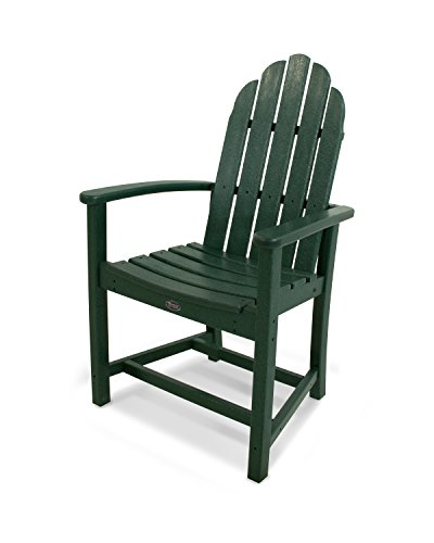 Trex Outdoor Furniture Cape Cod Adirondack Dining Chair in Rainforest Canopy