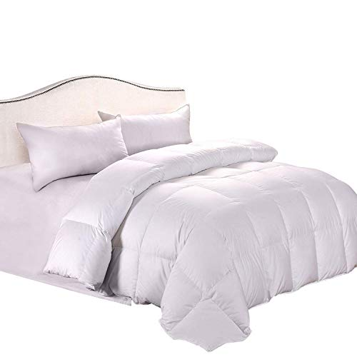 Cozy Feather Real Goose Down Comforter Duvet - Queen Full - Hypoallergenic...