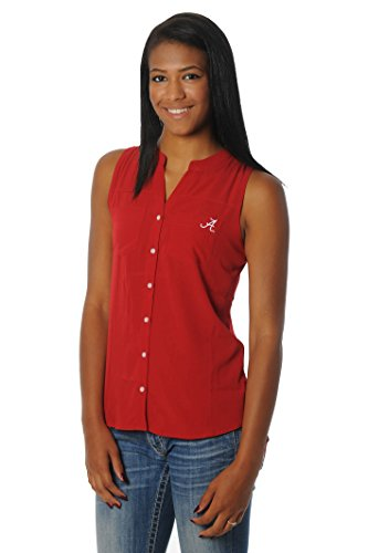 NCAA Alabama Crimson Tide Women's Tunic Tank Top, Large, Crimson