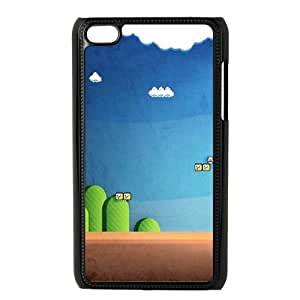 iPod Touch 4 Case Black Mario Land SUX_118572