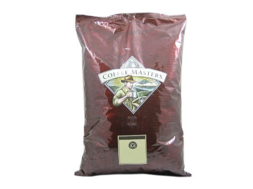 Crème Brulee Coffee, Whole Bean (5 Pound Bag) by Coffee Masters Brulee 5 Lb Bag