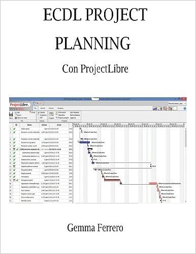 Ecdl Project Planning con ProjectLibre: Su Windows 7, 8.1, 10 e Ubuntu 14.04