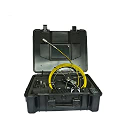 Mabelstar Dia.29mm Self-levelling Image Underwater Inspection Camera Video Camera With 30m Fiberglass Cable
