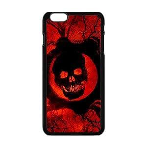 ka ka case unique design personality Happy Skull Phone Case for iPhone 6 Plus Case