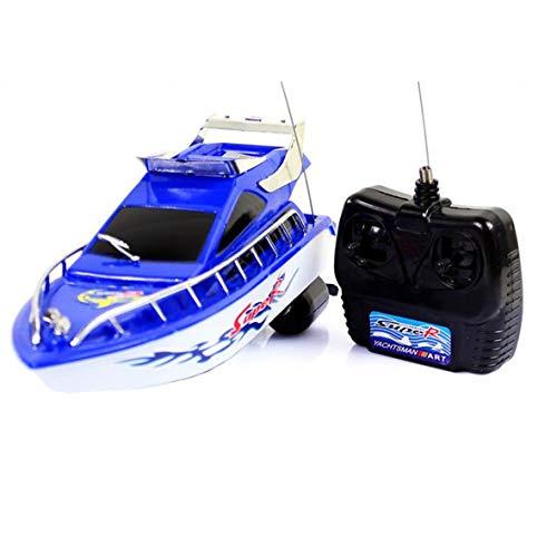 Tivolii RC Super Mini Control Remoto eléctrico Barco de Alta Velocidad Barco 4-CH Juguetes eléctricos de Juego de Regalo...
