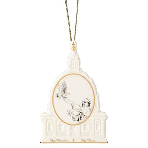 Lenox Pope Francis Commemorative Ornament product image