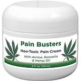 Pain Busters Arnica, MSM & Hemp Oil Pain Relief Cream