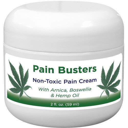 (Pain Busters Arnica, MSM & Hemp Oil Pain Relief Cream)