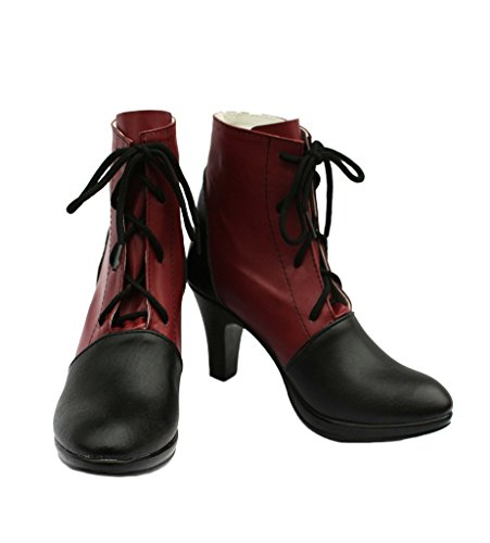 Zwarte Butler Kuroshitsuji Grell Sutcliff Cosplay Schoenen Laarzen Op Maat Gemaakt