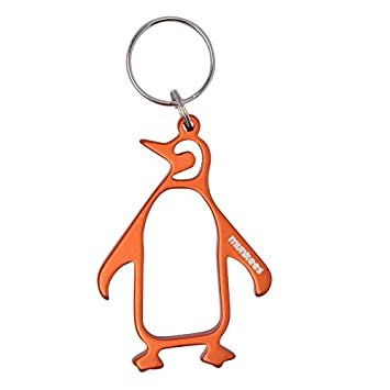 Munkees Llavero abrebotellas Pingüino, Naranja, 34303 ...