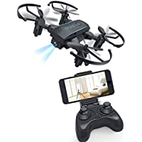 Mini Drone, Bangcool RC Quadcopter FPV Wifi Camera Foldable Drone with Remote Controller