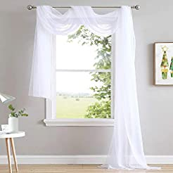 NICETOWN Sheer Curtain Panel 216