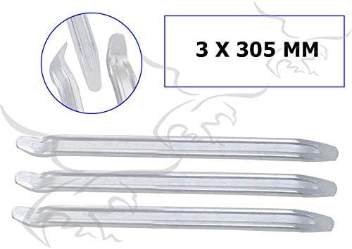 2 x Palancas desmontables de ruedas y neum/átcios 460 mm Desmontadoras para extraer y desmontar llantas