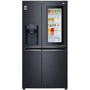LG 668 L Wi-Fi Inverter Side-by-Side Refrigerator (GC-X247CQAV, Matt Black)