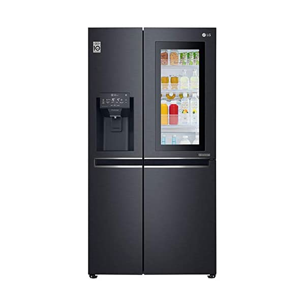 LG 668 L Wi-Fi Inverter Side-by-Side Refrigerator (GC-X247CQAV, Matt Black) 2021 July Side by Side Frost Free Refrigerator: Premium refrigerators with auto-defrost function to prevent ice build-up Large Capacity 668L: More storage, less supermarket. Suitable for families with 5 or more members Warranty: 1 year on product, 10 years on compressor