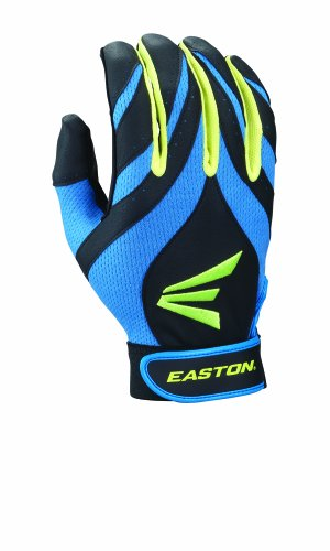 Easton Youth Synergy II Fastpitch Batting Gloves, Blue/Green/Black,, used for sale  Delivered anywhere in Canada