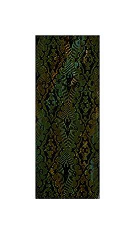 Batik Rayon Scarf - Goddesses, Green Shades May ()