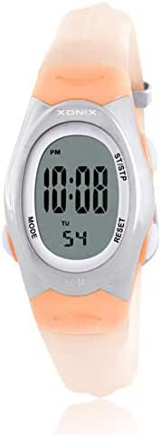 RetroLEDWaterproof digital watches/Girl girl multifunctional electronic watches-A