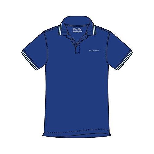 Lotto L73 Polo PQ - Polo, Hombre, Azul(BLU TWI/GRN LTN): Amazon.es ...