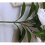 Lopkey-Upscale-Flower-Decor-Outdoor-Garden-Silk-White-Artificial-Gardenia-Flower4Pcs