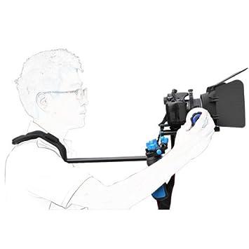Follow Focus Matte Box pour tous DSLR Appareils photo et cam/éscopes eimo Pro DSLR /épaule Rig Set Support Rig