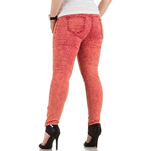Ital-Design - Vaqueros - para mujer Rojo