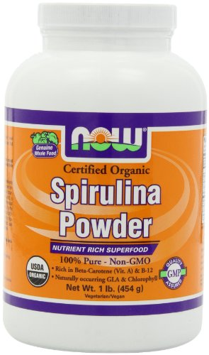 Now Foods, BIO SPIRULINA POWDER, 1LB