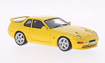 Porsche 968 Turbo S, yellow, 1993, Model Car, Ready-made,