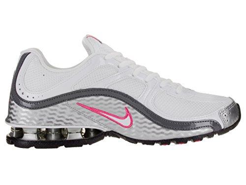 Nike Womens Reax Run 5, Running, White / Gray, M
